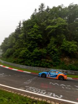 #151 Pixum Team Adrenalin Motorsport, Porsche Cayman: Christian Büllesbach, Andreas Schettler, James Briody, Carlos Arimon
