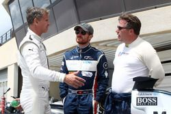 David Coulthard, Brian Vickers, Zak Brown
