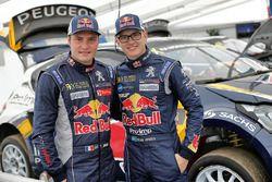 Davy Jeanney, Team Peugeot Hansen, und Kevin Hansen, Team Peugeot Hansen