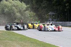 #8 Starworks Motorsports ORECA FLM09: Renger van der Zande, Alex Popow; #20 BAR1 Motorsports ORECA F