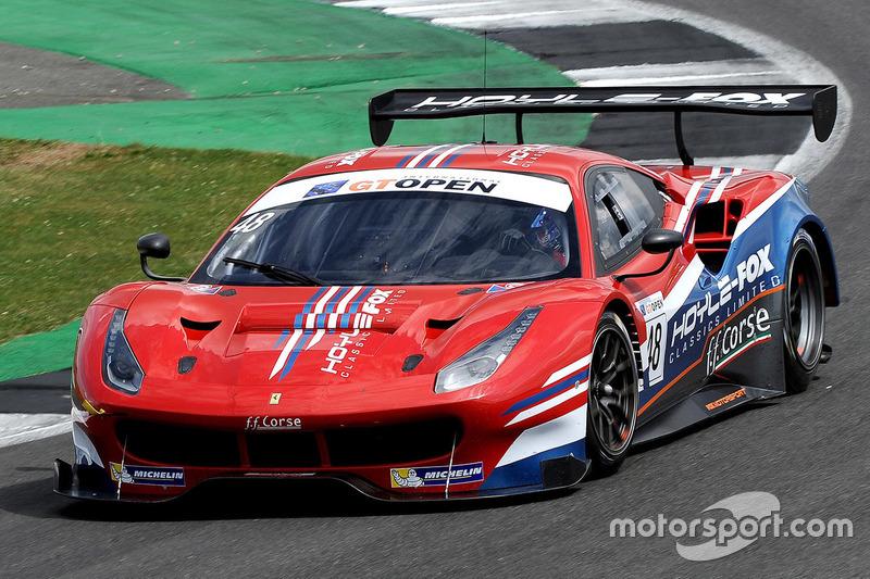 #48 AF Corse, Ferrari 458 Italia GT3: Jamie Stanley, Paul McNeilly