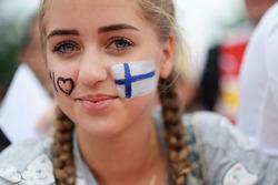 Aficionados finlandesesfan