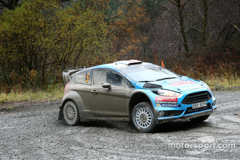 Mads Østberg, Ola Fløene, Ford Fiesta RS WRC, M-Sport World Rally Team