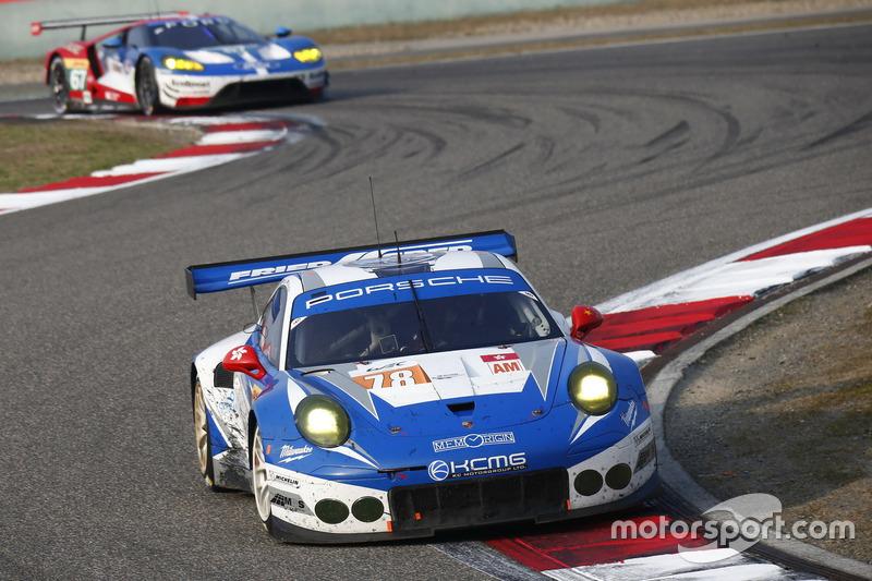 5. LMGTE-Am: #78 KCMG, Porsche 911 RSR: Christian Ried, Wolf Henzler, Joël Camathias