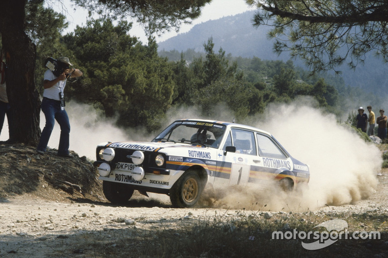 Ari Vatanen, David Richards, Ford Escort RS1800
