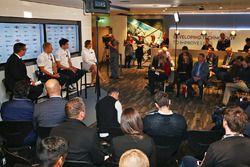 Valtteri Bottas, Lance Stroll, Claire Williams, Williams Deputy Team Principal