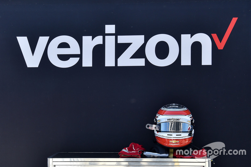 Casco de Will Power, Team Penske Chevrolet