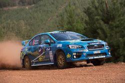 Molly Taylor, Bill Hayes, Subaru WRX STI