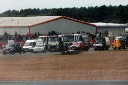 Dreher: Pascal Wehrlein, Manor Racing MRT05
