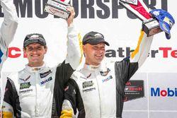 GTLM podium: third place #3 Corvette Racing Chevrolet Corvette C7.R: Antonio Garcia, Jan Magnussen