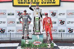 Podium: ganador, Josef Newgarden, Ed Carpenter Racing Chevrolet, segundo, Will Power, Team Penske Ch