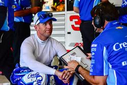 Jamie McMurray, Chip Ganassi Racing Chevrolet with crew chief, Matt McCall