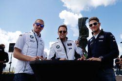 Maxime Martin, BMW Team RBM, BMW M4 DTM, Tom Blomqvist, BMW Team RBM, BMW M4 DTM; Marco Wittmann, BM