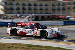 #60 Michael Shank Racing with Curb/Agajanian Ligier JS P2 Honda: John Pew, Oswaldo Negri, Olivier Pl