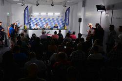 Pascal Couasnon, Michelin Motorsport Direktörü; Nicolas Goubert, Michelin Motorsport Teknik Direktör