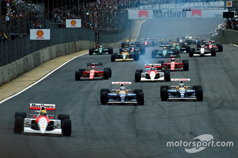 28 - GP do Brasil, 1991, Interlagos
