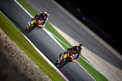 Brad Binder, Red Bull KTM Ajo, KTM and Bo Bendsneyder, Red Bull KTM Ajo, KTM