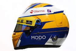 Le casque de Marcus Ericsson, Sauber F1 Team