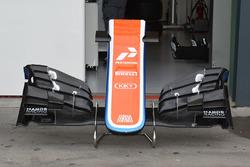 Nouvel aileron avant de la Manor Racing MRT05