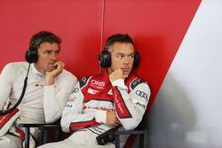 Marcel Fassler met Andre Lotterer, Audi Sport Team Joest Audi R18
