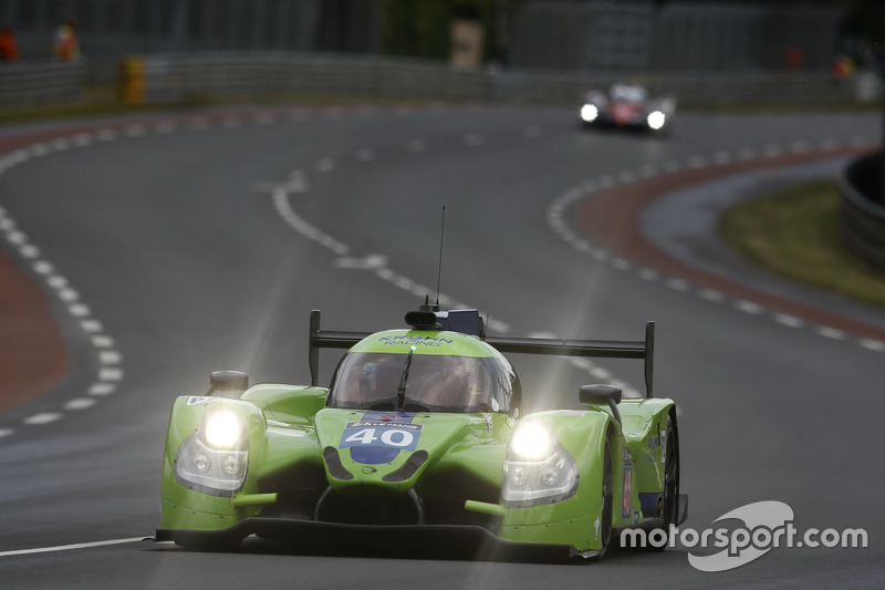 22nd: #40 Krohn Racing Ligier JS P2 Nissan: Tracy Krohn, Nic Jonsson, Joao Barbosa