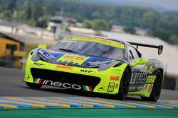 #181 Ineco - MP Racing Ferrari 458 Challenge Evo: Erich Prinoth