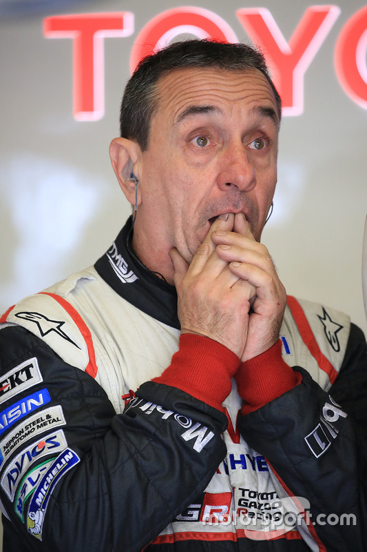 Mechaniker von Toyota Racing