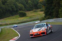 Moritz Gusenbauer, Marcel Hoppe, Porsche Cayman GT4 Clubsport