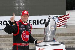 Race winner Michael McDowell, Richard Childress Racing Chevrolet