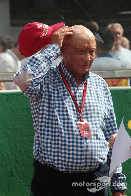 Niki Lauda, Presidente non-esecutivo Mercedes