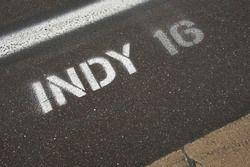 Marcador de Indy pit box