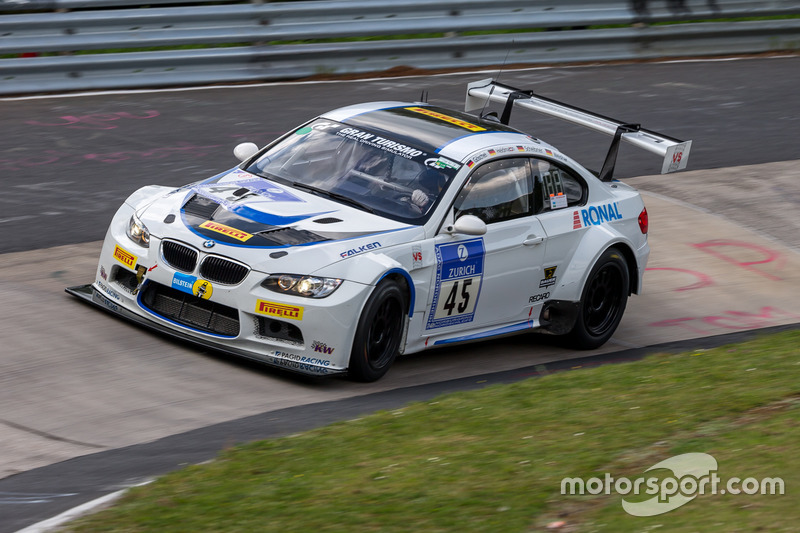 #45 TC-R & Vetter Motorsport,BMW M3 E92: Philipp Göschel, Dirk Heldmann, Rolf Scheibner, Frank Weish