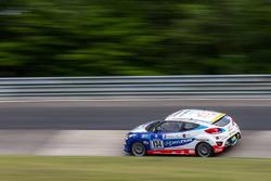 #134 Hyundai Motor Deutschland GmbH, Hyundai Veloster 1,6T: Mario Puksec, Joachim Kisch