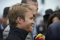 Nico Rosberg, Mercedes AMG F1 avec les médias