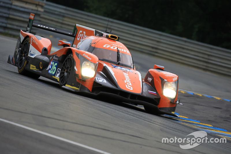 1. LMP2: #26 G-Drive Racing, Oreca 05 Nissan