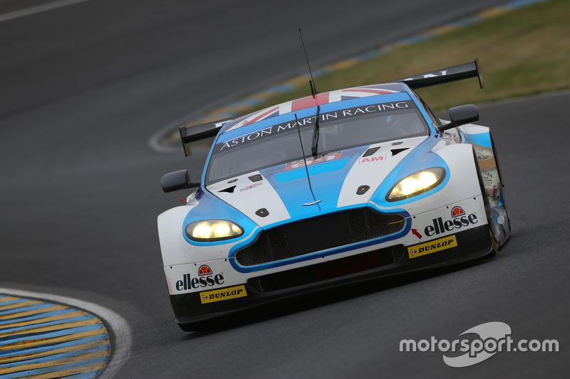 #99 Aston Martin Racing, Aston Martin Vantage GTE: Andrew Howard, Darren Turner, Alex MacDowall
