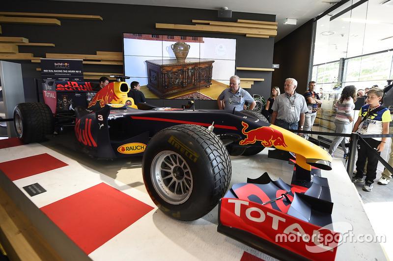 Auto di F1, Welcome center, Red Bull Ring