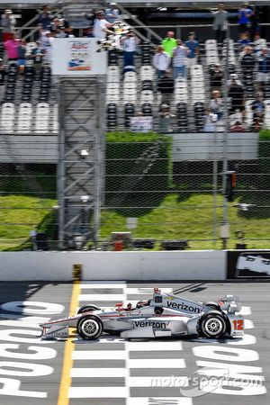 Will Power, Team Penske Chevrolet takes the checkered flag