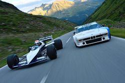 Nelson Piquet Jr. maneja el Brabham BMW F1 de su padre