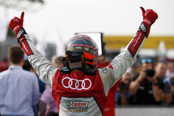 Le vainqueur Edoardo Mortara Audi Sport Team Abt Sportsline, Audi RS 5 DTM