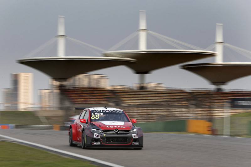 Yvan Muller, Citroën C-Elysee WTCC, Citroën World Touring Car Team