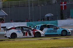 Roberto Colciago, Honda Civic TCR, Target Competition y Stefano Comini, Volkswagen Golf GTI TCR, Leo