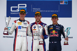 Luca Ghiotto, Trident Raffaele Marciello, RUSSIAN TIME and Pierre Gasly, PREMA Racing