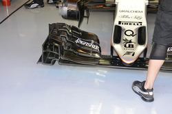 Sahara Force India F1 VJM09 front wing detail