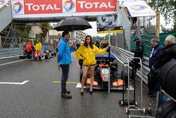 Grid girl, Anthoine Hubert, Van Amersfoort Racing Dallara F312 – Mercedes-Benz,