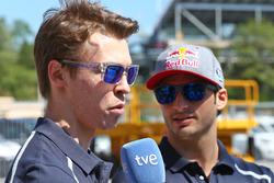 Даниил Квят, Scuderia Toro Rosso и Каролс Сайнс мл, Scuderia Toro Rosso