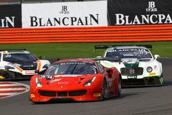 #34 Scuderia Praha, Ferrari 488 GT3: Jiri Pisarik, Matteo Malucelli