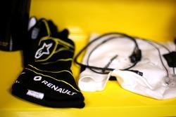 Handschuhe von Kevin Magnussen, Renault Sport F1 Team