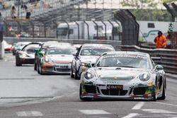 Andreas Patzelt, Nicolaj Moller Madsen, PROsport Performance, Porsche Cayman PRO4 GT4