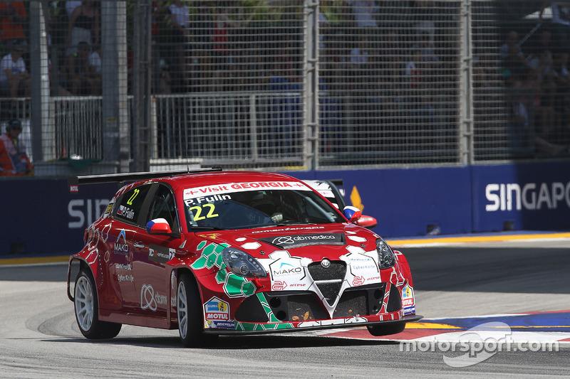 Petr Fulín, Alfa Romeo Giulietta TCR, Mulsanne Racing.